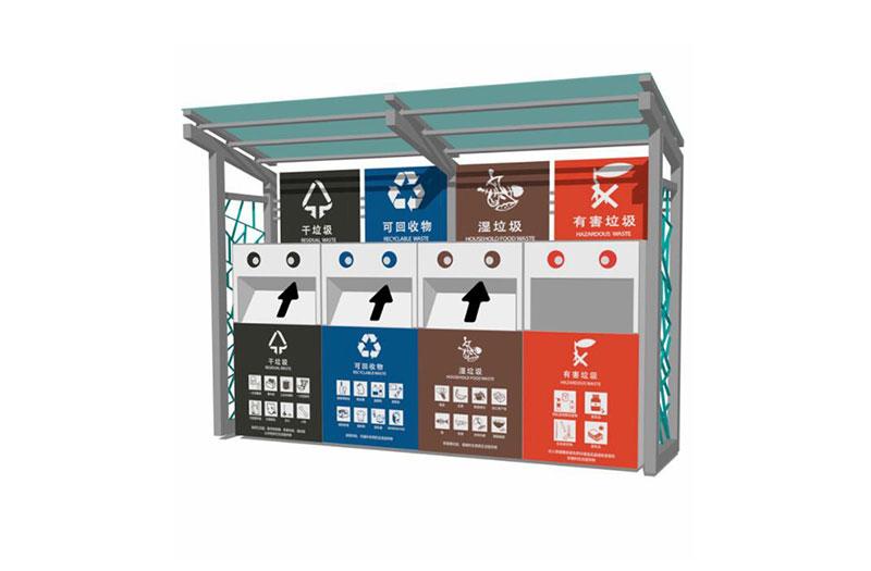 多分类广告垃圾回收亭-XH011