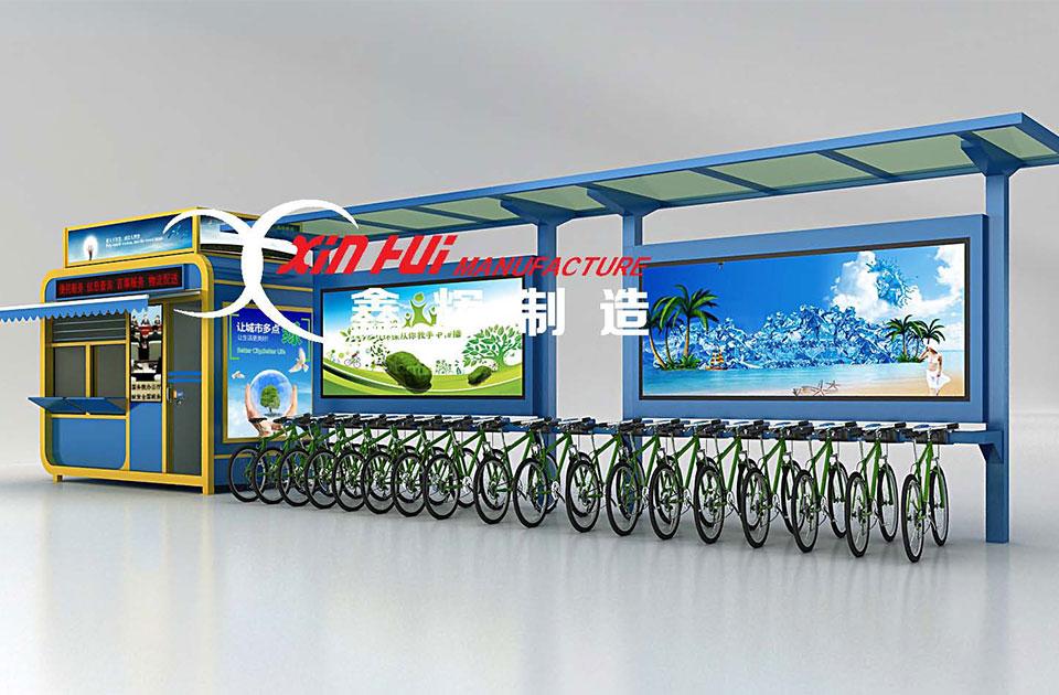 自行车亭XH002