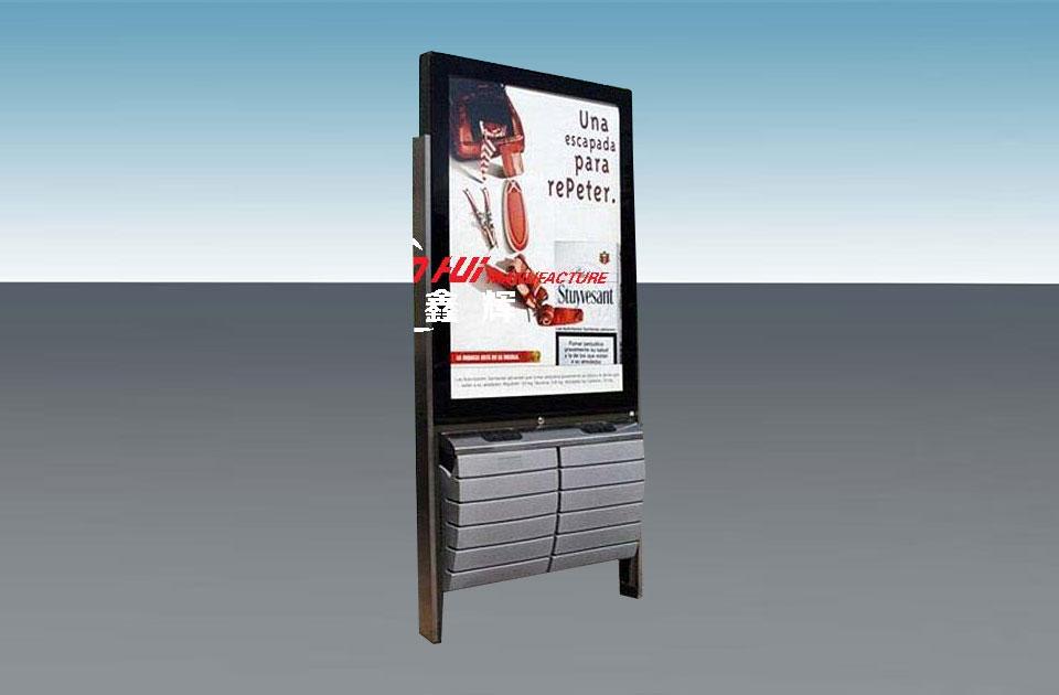 广告垃圾箱XH013